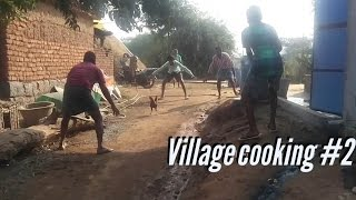 catching hen, cooking chicken | my village show
