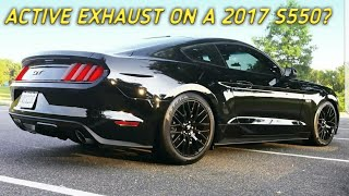 2017 Mustang GT VAREX XFORCE Exhaust Unboxing, Sound Clip and Review