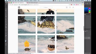 Instagram Collage Tutorial - How to make a collage in Photoshop