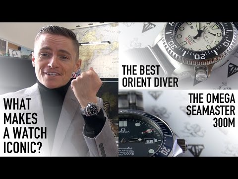 Orient's Best Diver - Pro Saturation Review & Omega Seamaster 300m - What Makes A Watch Iconic?