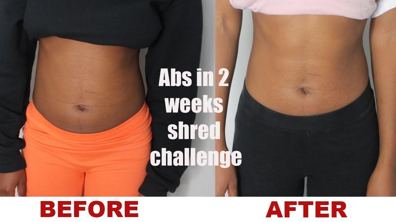 I Tried Chloe Ting's 2 Week SHRED CHALLENGE(Results) Chloe ...