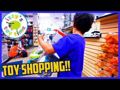 TOY SHOPPING SPREE! KID TO KID TOY STORE IN AUSTIN WITH IZZY'S TOY TIME