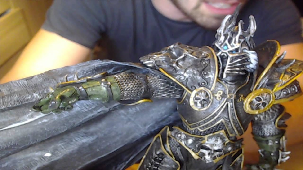 Unboxing The Lich King Deluxe Collector Figure World Of Warcraft