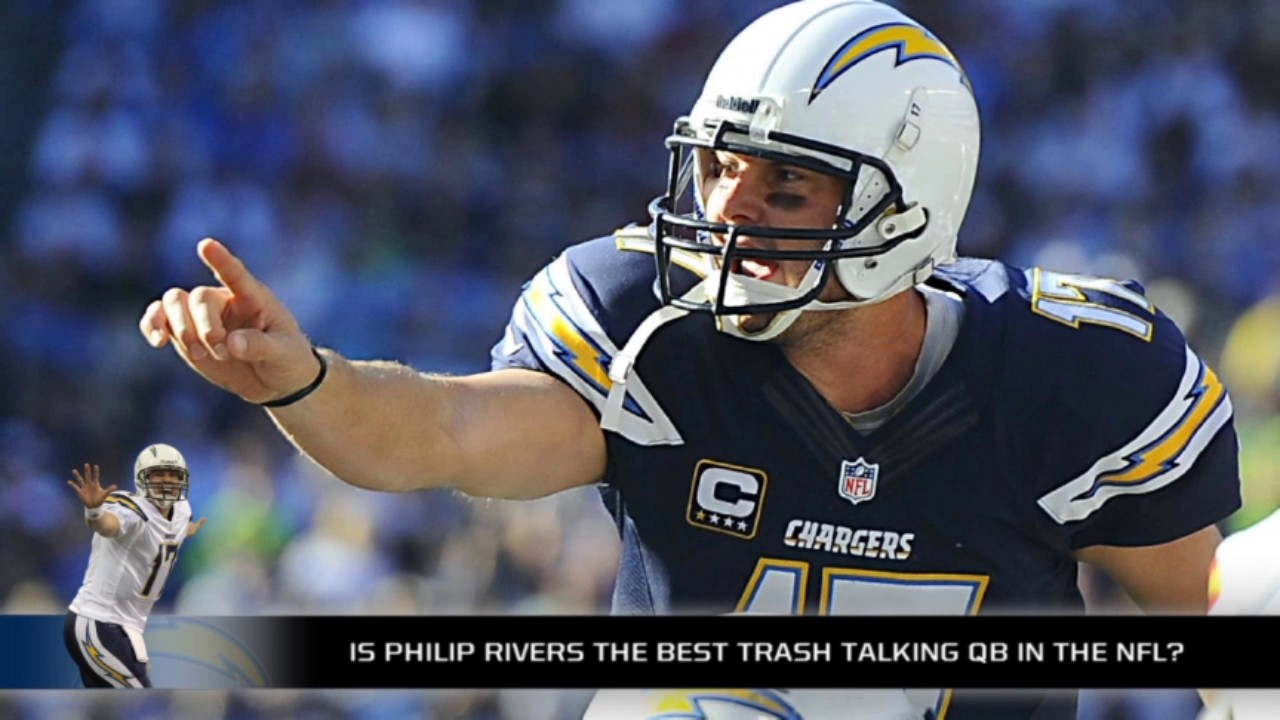 Philip Rivers might be the best trash talker in the NFL