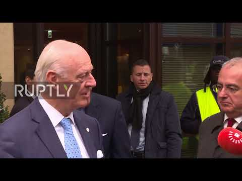 Switzerland: 8th round of UN-mediated Syrian talks begins in confusion