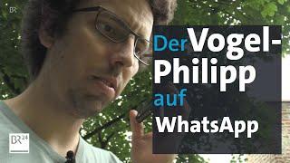 Vogelphilipp: Vögel Per WhatsApp Bestimmen   BR24
