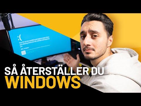 Installera/Återställa Windows, ENKELT - Komplett.se