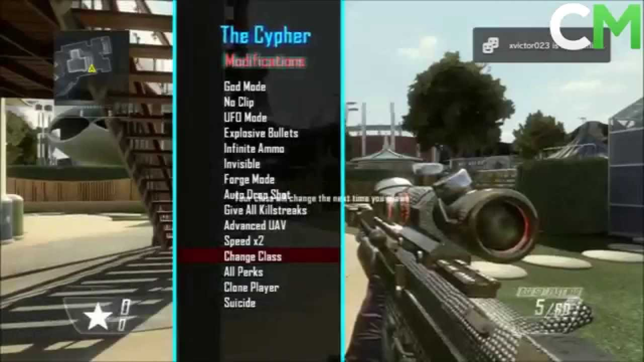 [NO JAILBREAK / JTAG]1 19 Black Ops 2 USB Mod Menu Online [Xbox 360/PS3/PC]  + Download