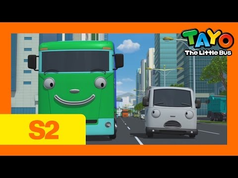Tayo S2 EP4 I'll Help You, Big L Tayo The Little Bus