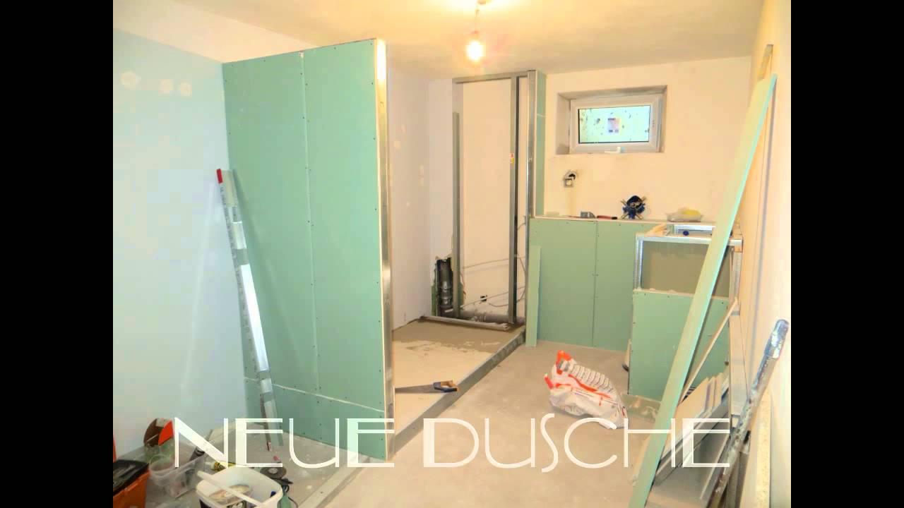exklusive sanierung/fugen lose badezimmer - youtube