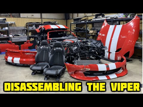 Rebuilding a Wrecked 2017 Dodge Viper GT Part 3