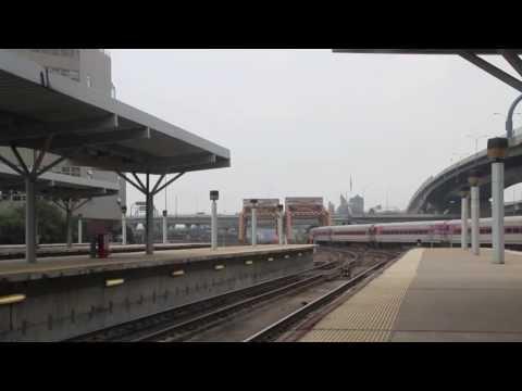 Video #323 - Trains at North Station - Boston, MA