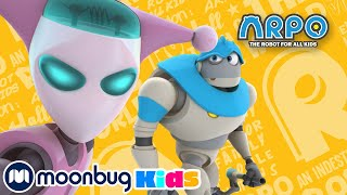 No Nannybot - ARPO the Robot Nanny - Super Kids Cartoons - MOONBUG KIDS - Superheroes