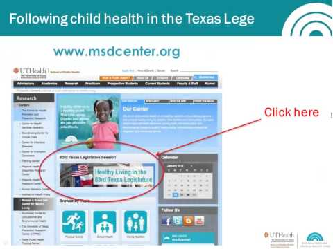 Child health and the 83rd Texas Legislature: What to expect