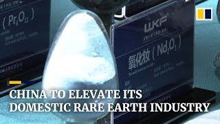 Amid US-China trade war, Beijing threatens to cut its rare earth exports
