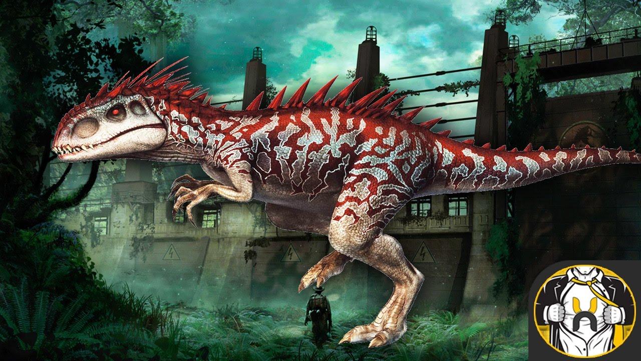 Jurassic world hybrid dinosaur the - Dinosaure jurassic world ...