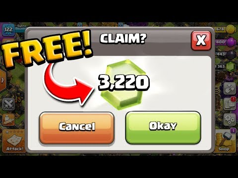 It's EASY To Grab Over 3,200 FREE GEMS In Clash Of Clans! Farm To MAX #9
