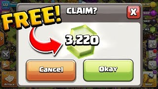 Download lagu It's EASY to Grab over 3,200 FREE GEMS in Clash of Clans! Farm to MAX #9