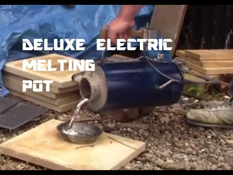 DELUXE ELECTRIC MELTING POT