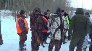 Охота на лося . Часть 1