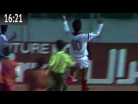 Match Complet Qualification JO Seoul Tunisie 1-0 Maroc 17-01-1988
