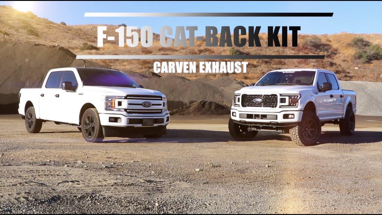 Carven Exhaust Ford F-150 2.7L, 3.5L & 5.0L Complete Cat-Back Kit