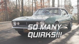 Driving a Classic Car for the first time ||1967 Chevrolet Camaro Review