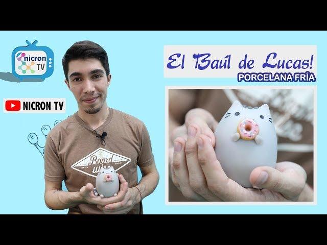 El Baúl de Lucas NICRON TV - Gato Dona en Porcelana Fria