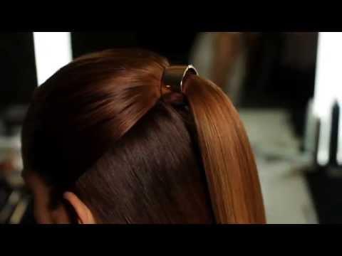 Weekend Hair METAL PONYTAIL CUFF YouTube - Ponytail cuff diy