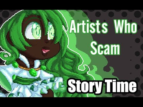 Yes Artists Can Scam people | Story Time