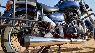 My NEW Royal Enfield SILENCER | Best Exhaust/Silencer for ROYAL ENFIELD