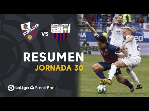 Huesca Extremadura UD Goals And Highlights