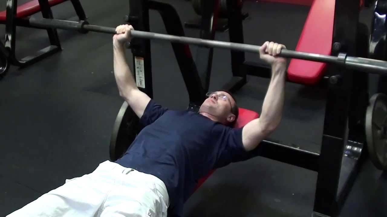 Guillotine Bench Press Part - 23: Barbell Bench Press To Neck