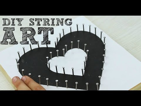 DIY a String Art Wall Piece