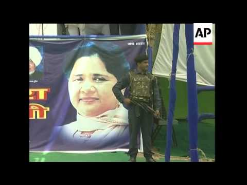 Profile of 'untouchable' leader Mayawati