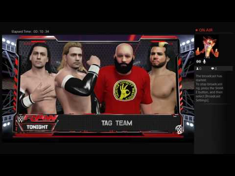 WWE2K16:WWE Tag Team Championship Tournament