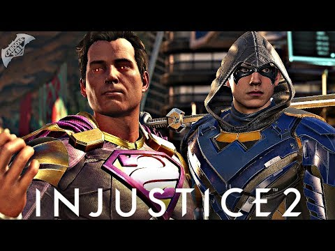 Injustice 2 Online - EPIC NIGHTWING AND BIZARRO GEAR!