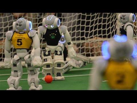 Australian Team Wins Robot Soccer Title