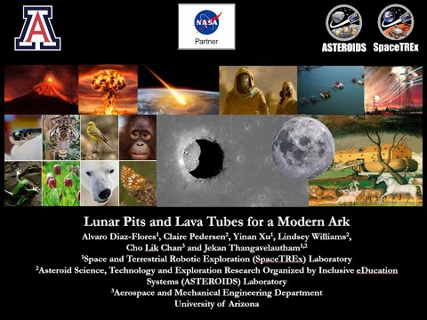Lunar Pits and Lava Tubes for a Modern Ark