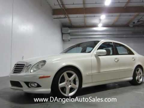 2009 mercedes benz e350 amg sport package d 39 angelo auto. Black Bedroom Furniture Sets. Home Design Ideas
