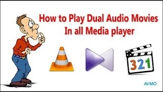 How to Play dual audio movies in Hindi Urdu