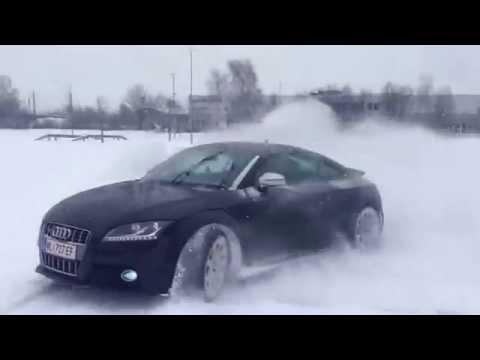 Audi Tts Quattro Drift Youtube
