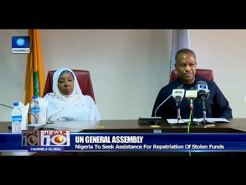 Nigeria Demand Repartriation Of Stolen Funds At UN General Assembly Pt.1 |News@10| 12/09/17