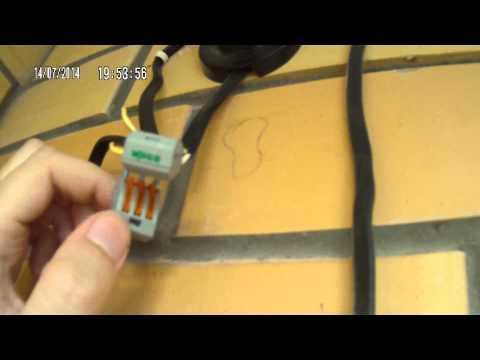 Как провести проводку на балкон