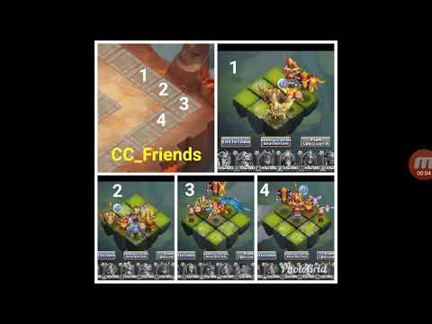 Lava 4 Full Setup! Castle Clash