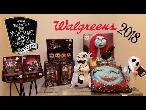 Walgreens Christmas Lights.Walgreens Nightmare Before Christmas Haul 2018 Youtube