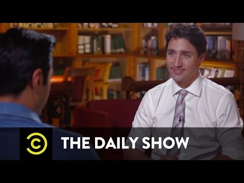 Exclusive - The Daily Show vs. Justin Trudeau: Read My Spec Script