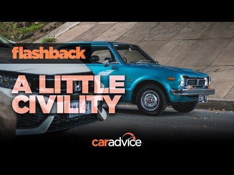 1973 Honda Civic vs. Flashback To A Little Civility