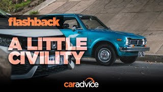 Flashback: 1973 Honda Civic | A little civility