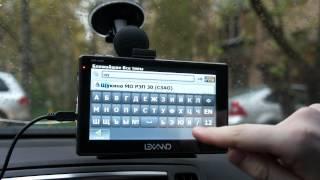 видео GPS-навигатор Lexand STR-6100 HD